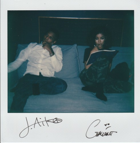 Gallant & Jhene Aiko in the studio for Red Bull in Los Angeles, CA, USA on 13 December, 2015.
