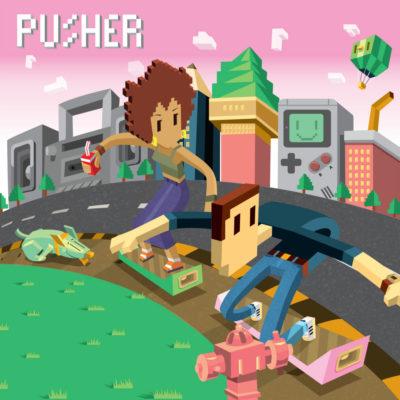 Pusher Tell You Single artwork