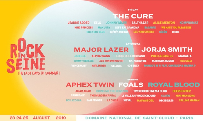 What Should I See at Rock En Seine 2019? | Going Solo